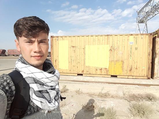 Die Ankunft des Schiffscontainers – DaR-Gründer Ashgar Mehrzada