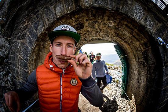 Jasper Jauch: 28 Jahre alt, seit vielen Jahren Bikeprofi und stets für jeden Spaß zu haben