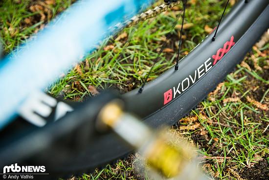 Jolanda Neff setzt auf die neuen Kovee XXX Laufräder von Bontrager