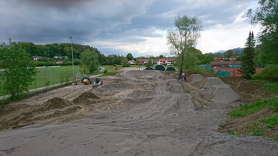 Dirtpark/Pumptrack Übersee 2019