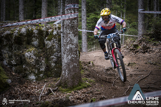 Milan Mysik finishte auf Platz drei in der Hauptklasse der Männer