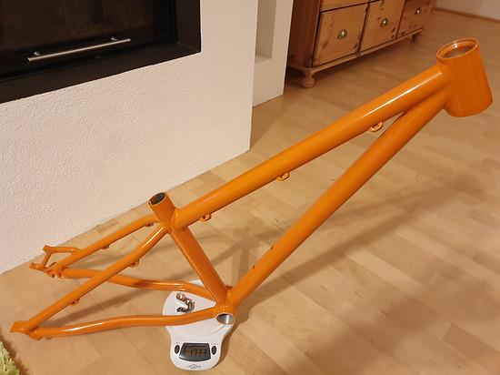"""Der Rahmen stammt aus dem Hause Mworx und ist mit 24""""- und 26""""-Laufrädern kompatibel"""