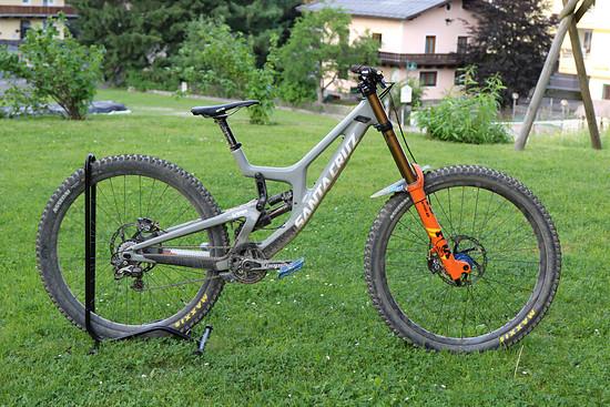 Santa Cruz V10 CC 29'' custom