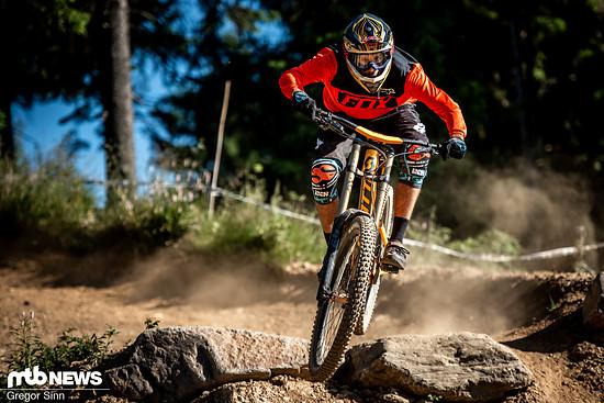 Das Scott Gambler Tuned ist ein Race-Bike und verlangt nach etwas Führung