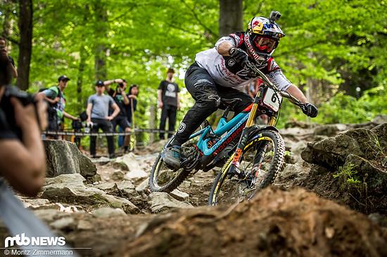 Die neuen Mavic Deemax DH-Laufräder wurden seit 2018 von Brook Macdonald und Co im Downhill World Cup auf Herz und Nieren getestet