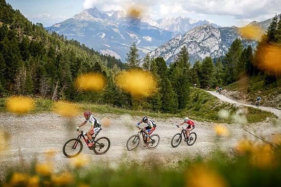 Die Fahrt durch die Dolomiten bot einmal mehr ein atemberaubendes Panorama