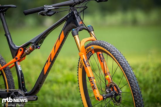 Das KTM Scarp kommt für 2020 mit einem neuen Hauptrahmen, der ganze 200 g leichter ist als sein Vorgänger