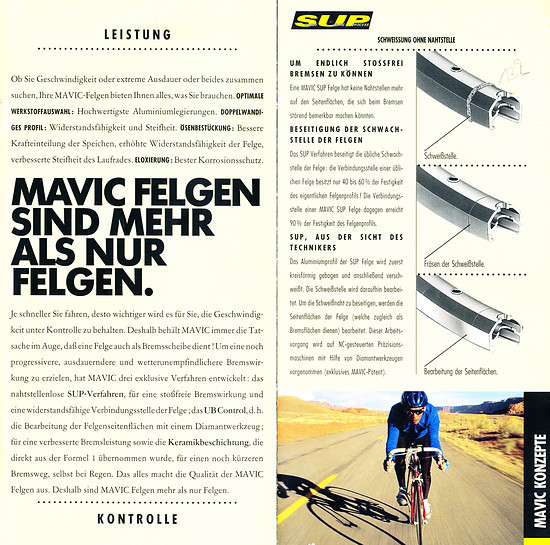 Mavic Katalog '95 (3von9)