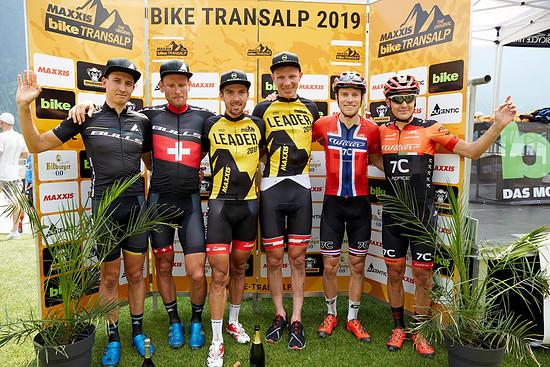 Die schnellsten Herren-Teams der Transalp 2019!