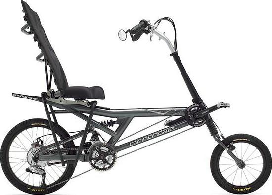 Cannondale Bent (Recumbent), Chris Dodman's designed Easy Rider / Bent.