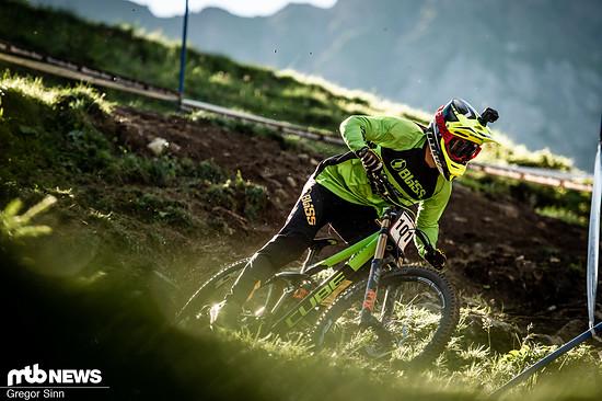 Nach einigen durchwachsenen Rennen zeigt die Formkurve für den Cube-Piloten Gaetan Vige in der Schweiz wieder bergauf.
