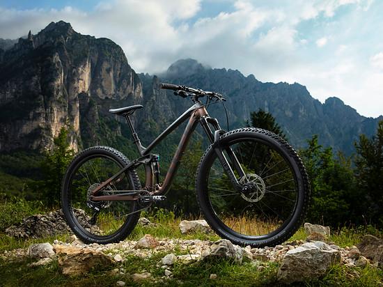 Trek Fuel EX 7 Matte Dnister Black/Sunburst