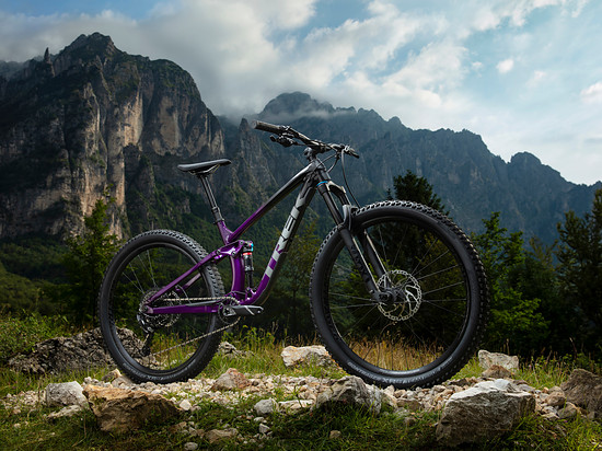 Trek Fuel EX 8 Trek Black/Purple Lotus