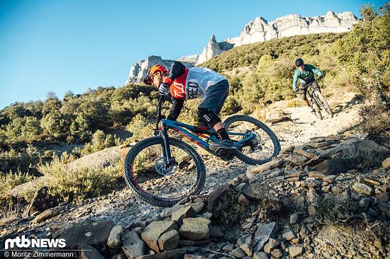 Trailbikes sind die absoluten Alleskönner unter den Mountainbikes