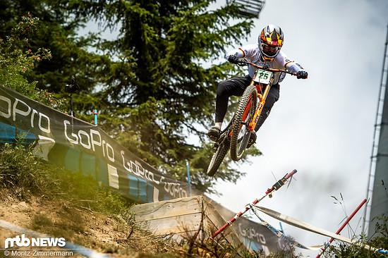 Hannes Lehmann ist der einzige Junioren-Fahrer, der vom BDR für die WM in Mont-Sainte-Anne nominiert wurde. Mit Platz 7 in Val di Sole hat er die Norm erfüllt.