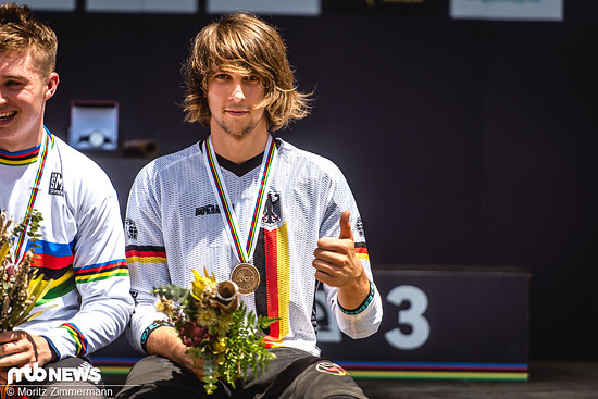 Die Bronzemedaille bei der Downhill-WM in Cairns ist wohl nach wie vor das Highlight in seiner noch jungen Karriere