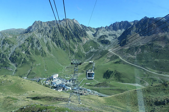 Gondel zum  Pic du Midi de Bigorre