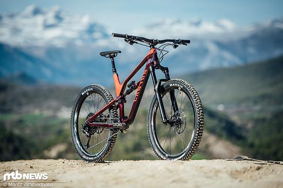 """Canyon setzt bei seinem vor einem Jahr vorgestellten Trailbike Spectral auf 27,5"""" Laufräder in Verbindung mit 150/140 mm Federweg"""