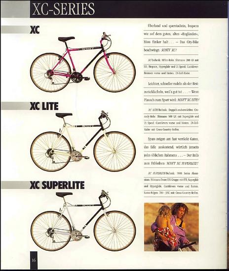 Scott Kat 1990 XC-Serie