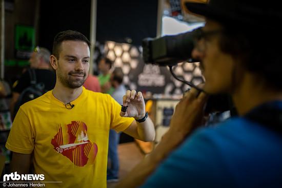 Jascha von tune zeigt den Xpanda