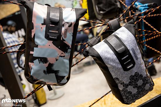 Die Ortlieb Velocity Design-Rucksäcke unterscheiden sich nur optisch von den gewöhnlichen Modellen.