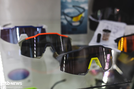 Die schicken Brillen-Modelle von 100% ...
