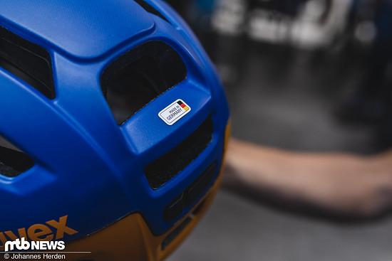 """... muss man bei keinem der Helme """"Made in Germany"""" verzichten"""