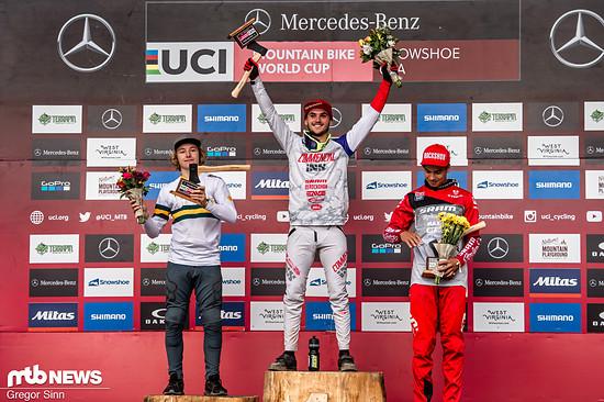 Thibaut Daprela siegte vor Luke Meier-Smith und Lucas Cruz.