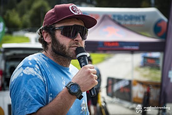 Trailbauer Markus Irschara zeichnet für die Trails verantwortlich