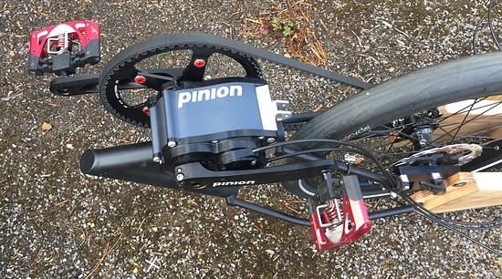 Mosquito Velomobile, #8, with Pinion P1.18, 155mm Cranks, works like a charm!