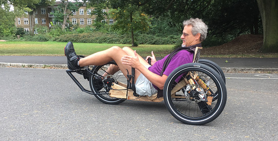 Mosquito Velomobile, #8, Glorious 2nd Test ride... Perfect! Thank you Nicolas!