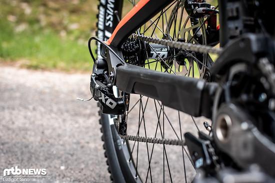 Fast jedes moderne Downhill-Bike setzt auf den SRAM DH-Antrieb