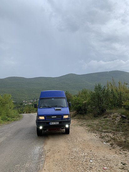 Iveco Daily 4x4 in Bosnien
