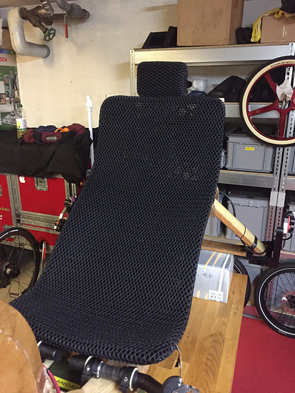 Mosquito Velomobile, #8, Ventisit Pads arrived! To protect the Seat!!!