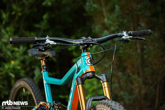 Vierkolben-Bremsen sieht man heutzutage immer öfter an Trailbikes