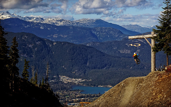 Nice Fly over Whistler