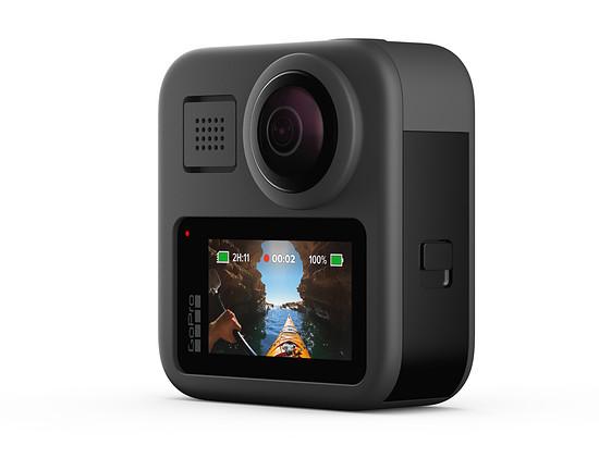 Die neue GoPro Max kann nicht nur 360°-Aufnahmen liefern, sondern auch als ganz normale GoPro-Actioncam verwendet werden.