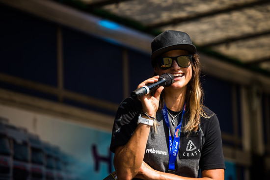 Organisatorin Steffi Marth