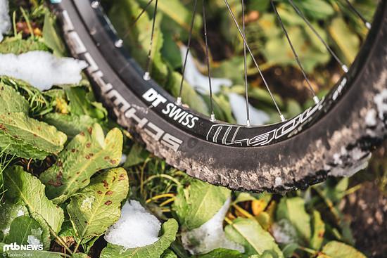 Die DT Swiss M1900-Laufräder gehören nicht zu den leichtesten, aber zu den solidesten