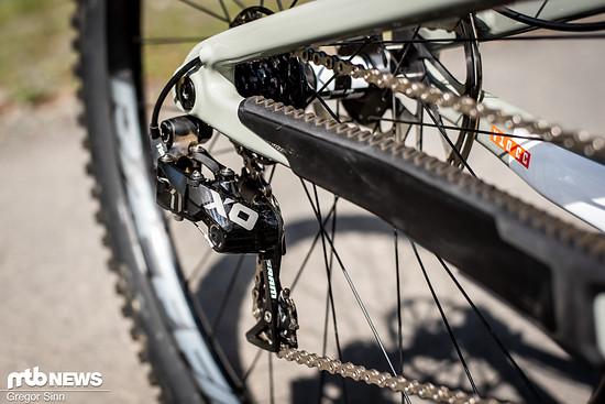 Der SRAM X01 DH-Antrieb ist von kaum einem DH-Bike noch wegzudenken