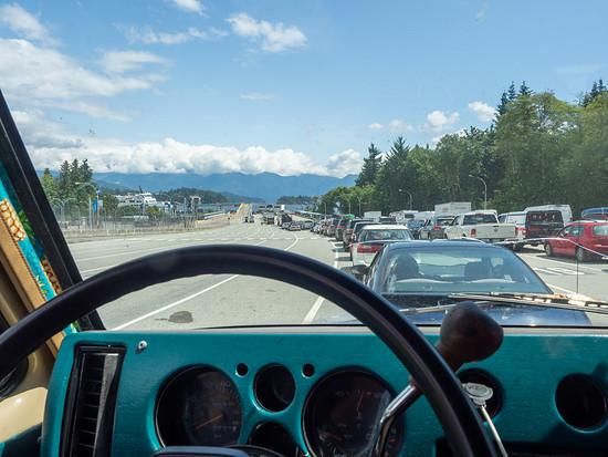 Von der Sunshine Coast zurück Richtung Vancouver geht es – wie könnte es anders sein – per Fähre