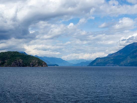 Die Landschaft an der Küste von B.C. ist nur schwer zu überbieten