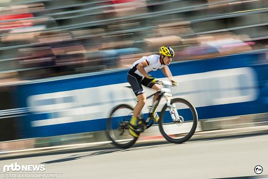 Auch der Deutsche Meister Felix Klausmann überzeugte mit starken Resultaten im Weltcup