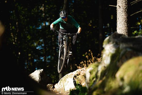 Die Haltbarkeit des Mavic Deemax Elite-Laufradsatzes konnte uns vollends überzeugen