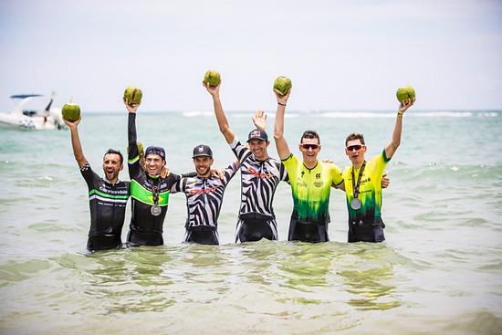 Das Podium des Brasil Ride 2019