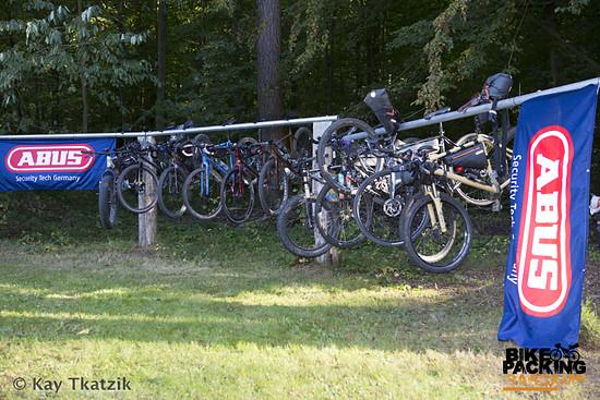 Ein Teil des Fahrradhotels