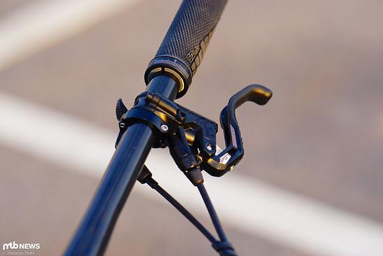 Die Magura MT Sport-Bremse sorgt für solide Verzögerung.