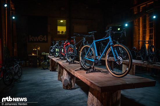 Die Bikes, die jeder Hersteller mitgebracht hat, konnten sich mehr als sehen lassen.