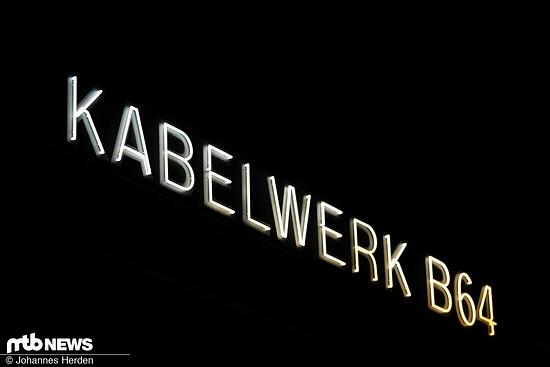 Der Schauplatz für die ersten Craft Bike Days war das Kabelwerk B64 im Münsterland.
