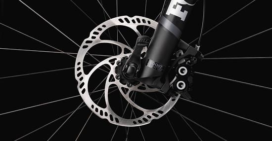 Die Magura MTB Trail-Bremse mit 4 Kolben an der Front soll für zuverlässige Bremsvorgänge sorgen